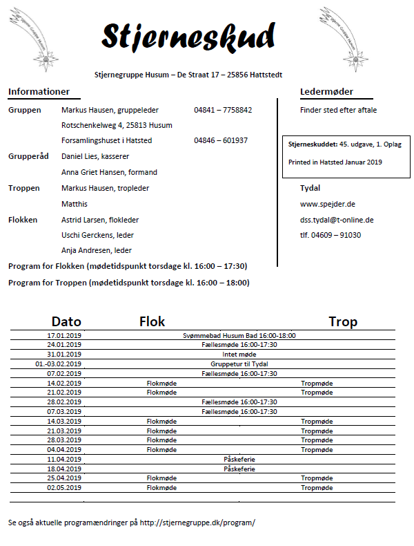 Program 01-2019 er udkommet