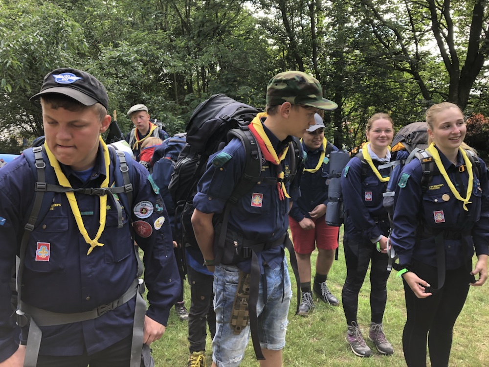 "3.-4. dag ""hike"" jamborette 2019"